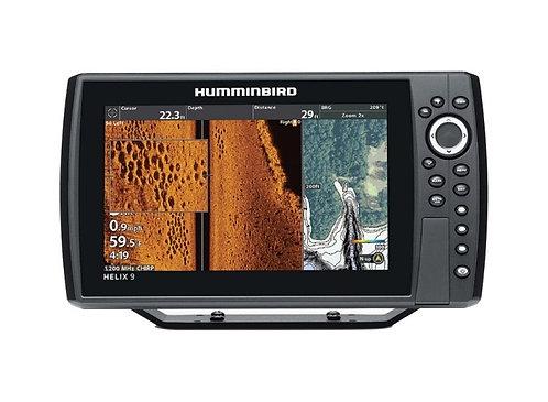Humminbird Fishfinder HELIX 9 CHIRP MEGA SI+ GPS G3N with Navionics+