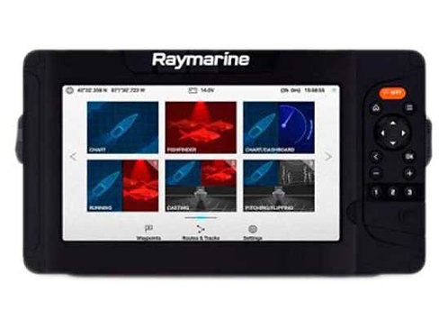"""Raymarine 9"""" Element-S with CPT-S Transom Mount Transducer"""