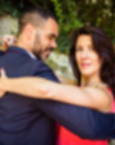 Heike und Gensil Salsa Tanzen