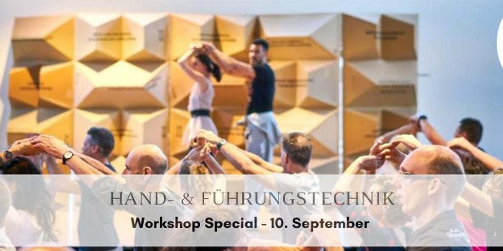 Workshop Hand- & Führungstechnik