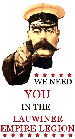 We need you in the Lauwiner Empire Legio