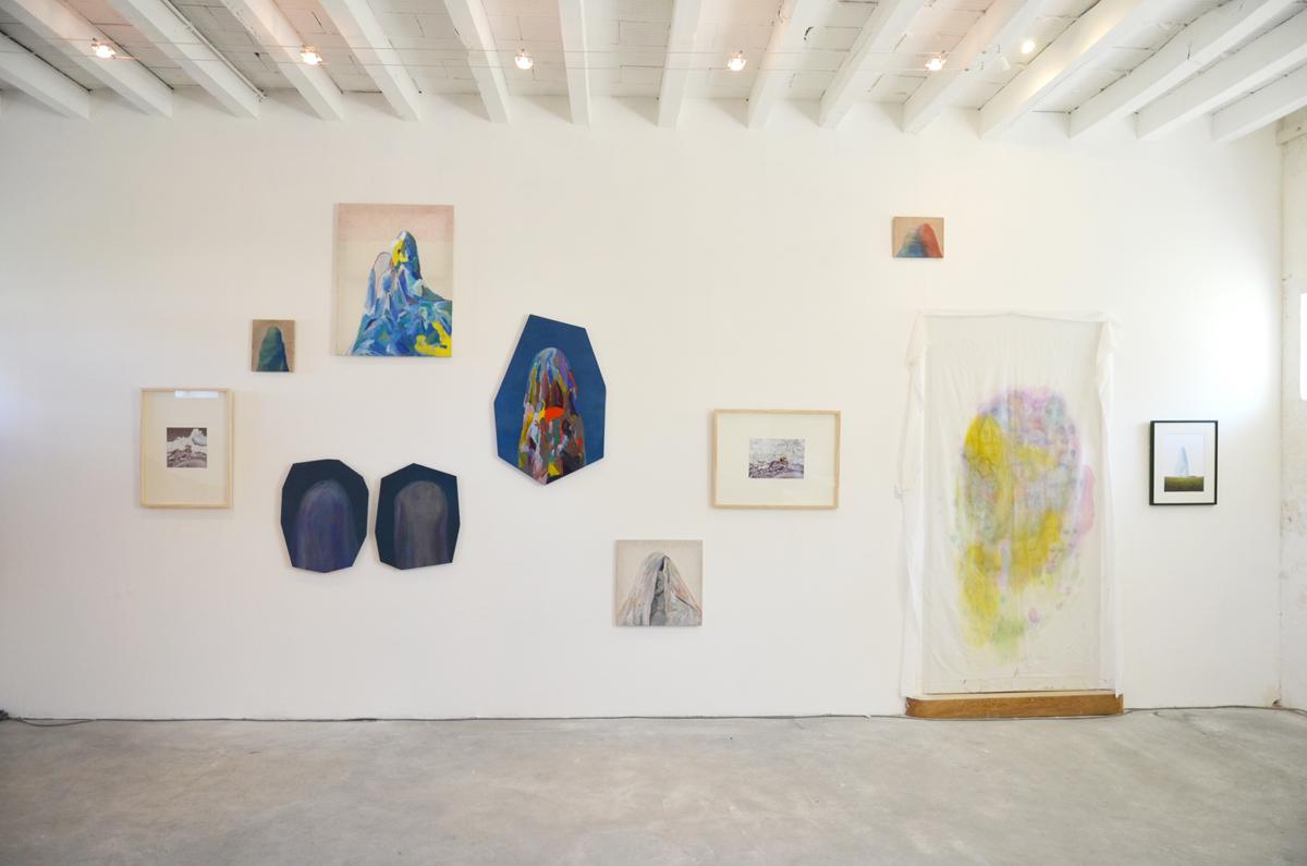 Vue de l'installation de peinture