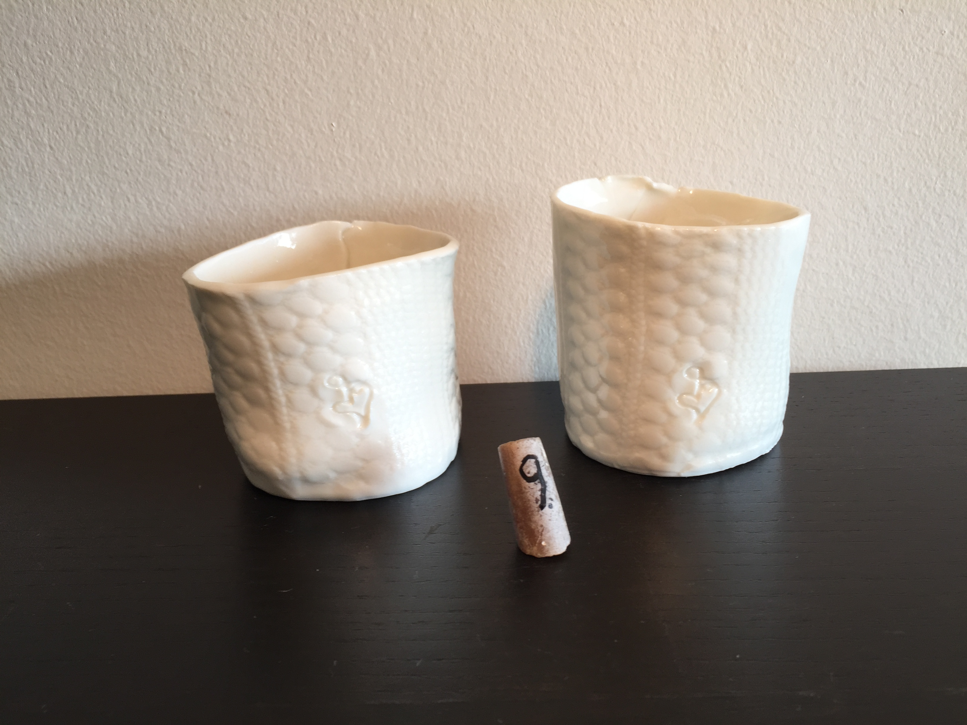 Ceramic vases/candleholder/cup
