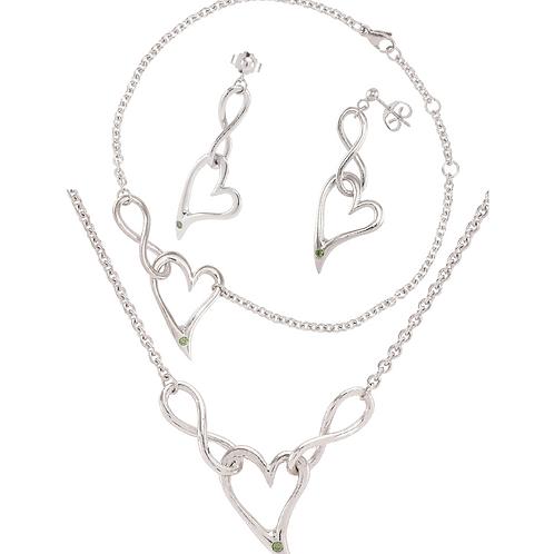 Unique InfiniteLoove Jewelry Set