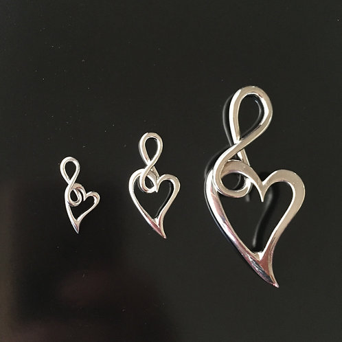 InfiniteLoove jewelry - choose your pendant size