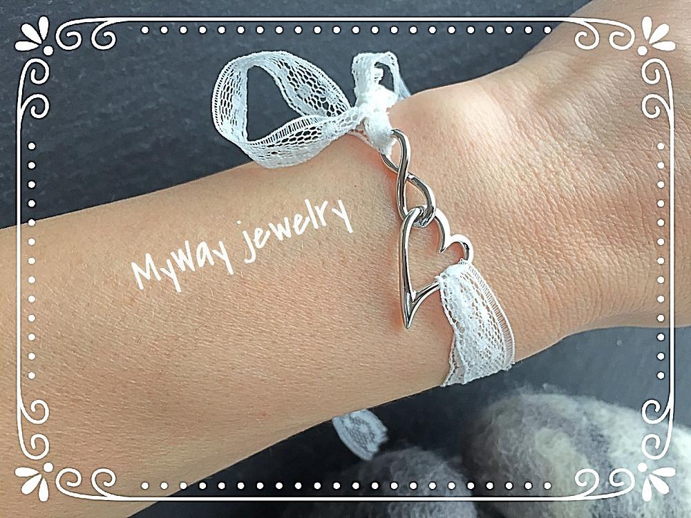 InfiniteLoove uendelig kærlighed MyWay smykke jewelry armbånd bracelet sterling sølv silver