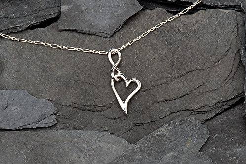 Sterling silver necklace with chain