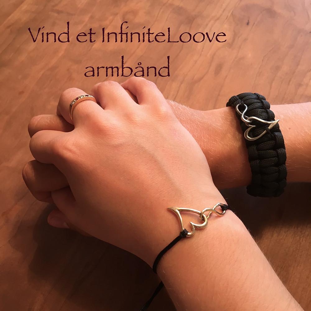 InfiniteLoove love infinite kærlighed smykke hjerte guld sølv