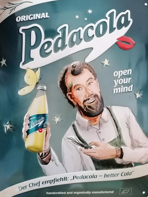 Pedacola Schild der Chef empfiehlt