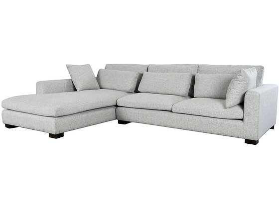 THELMA SECTIONAL WITH LAF CHAISE GRAY