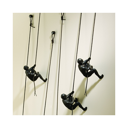 Climbing Man - Wall Mounted