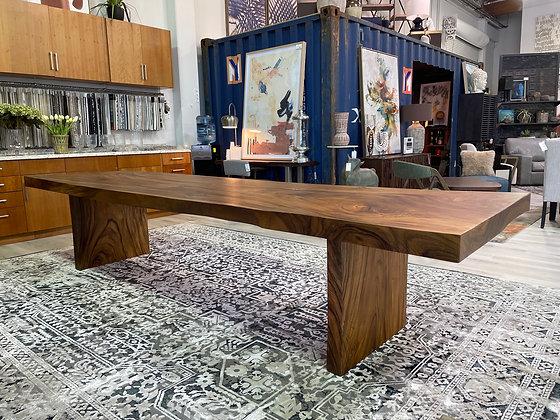 12' Straight Edge Table