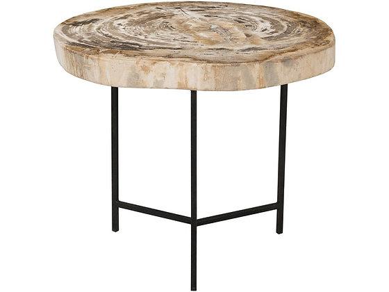 Riley Petrified Wood Table - MEDIUM