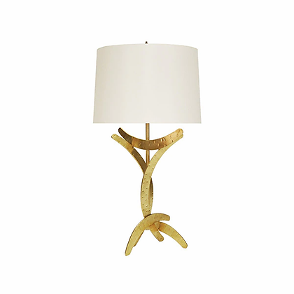 WORLD AWAY MARISOL G SCULOTURAL TABLE LAMP