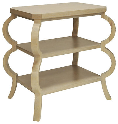 OLIVE CO THREE TIERD SIDE TABLE