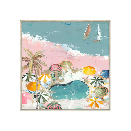 Bubblegum Beach I * In Stock*
