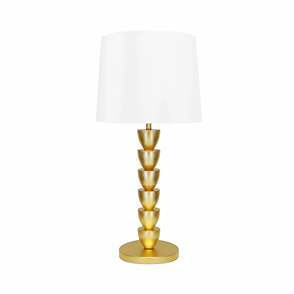 WORLD AWAY NELLIE G STACKED TABLE LAMP