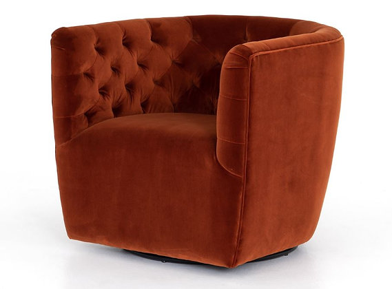 Hanover Tufted Swivel Chair