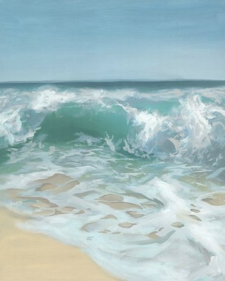 CRASHING WAVES I
