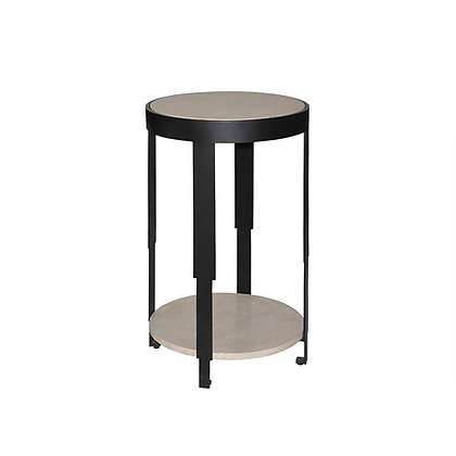 SHERMAN BLK Accent Table