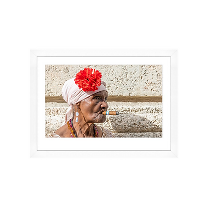 Cuban Woman with Rose * In Stock*