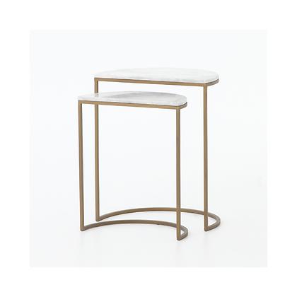 Ane Brass Nesting Table