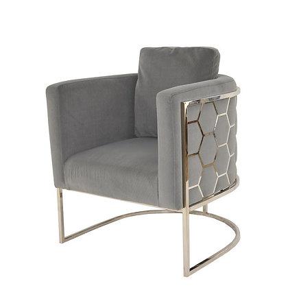 Paula Silver Chair