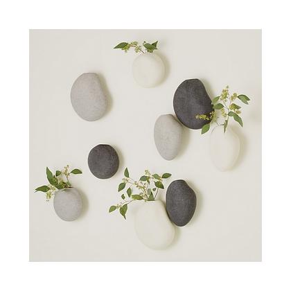 Pebble Wall Vase