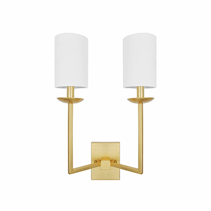 WORLD AWAY STANLEY G SCONCE-GOLD