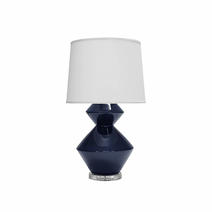 WORLD AWAY BONNIE NVY TABLE LAMP