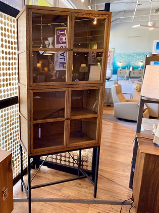 Brunswick Two Drawer Curio Cabinet