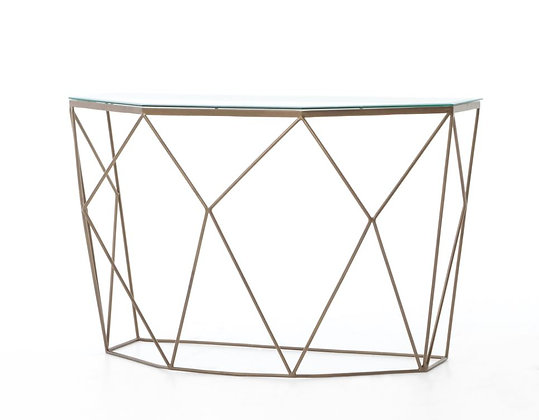 Geometric Console Table
