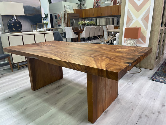 Straight Edge Dining Table