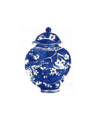 BLUE PORCELAIN II