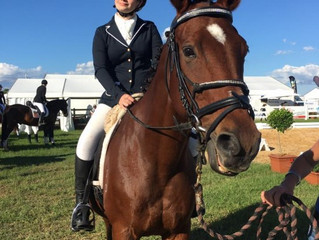 Marnie achieved her dream of competing