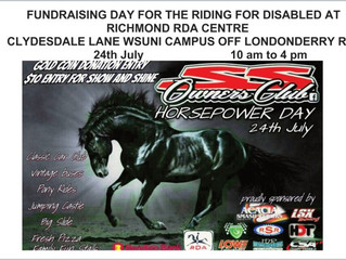 Upcoming Event Horsepower Day 24th July, 10am - 4pm