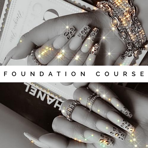 Foundation Course (Sculptured Acrylics)