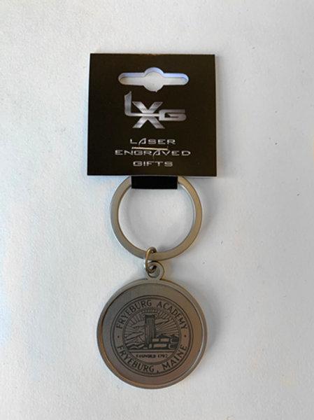 Round Keyring (Engraved)