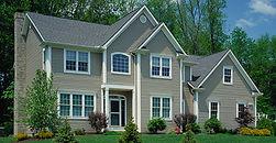 Custom Siding On Two-Story Home