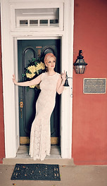 Doreen Taylor stands in the doorway of the main house Oscar Hammerstein passed through countless times