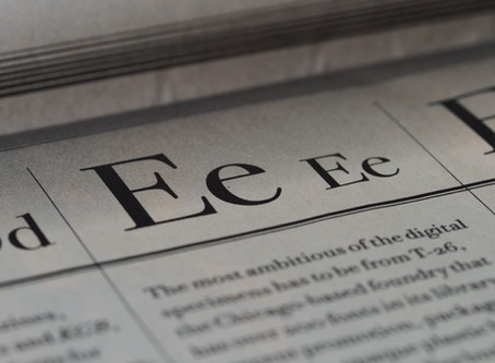 A Beginner's Guide to Typefaces