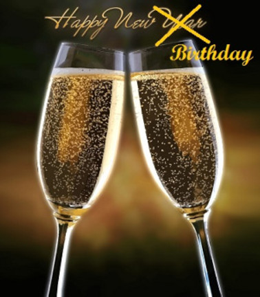 new year birthday