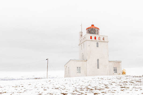 White out Lighthouse - Iceland