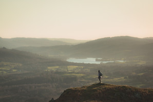 The World is Yours - Loughrigg Fell, Cumbria