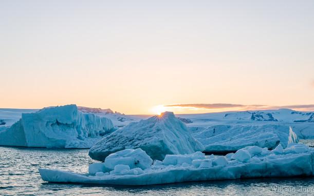 Ice and a Slice - Jökulsárlón Glacier Lagoon, Iceland