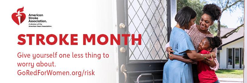 AHA Stroke Month Banner