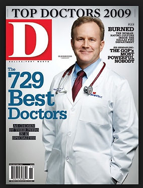 D Magazine Voted Best Cover-Dr. Richard Snyder 2009