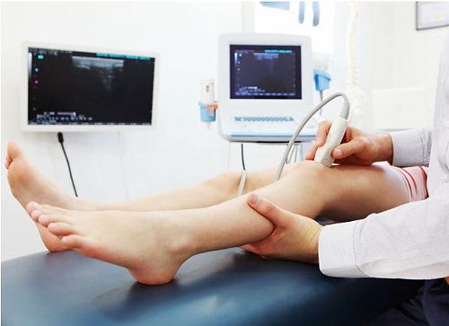 lower leg ultrasound
