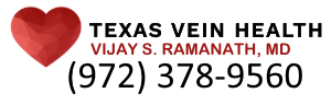Texas Vein Health Logo and Phone Number 972-378-9560