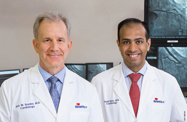 Drs. Snyder and Raza